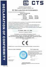 耐实万博官方网页版设备通过欧盟CE安全认证1
