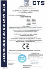 耐实万博官方网页版设备通过欧盟CE安全认证2